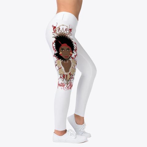 Melanin Mystique Leggings Standard T-Shirt Right