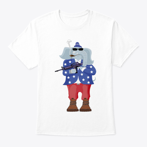The Republican Revolution White T-Shirt Front