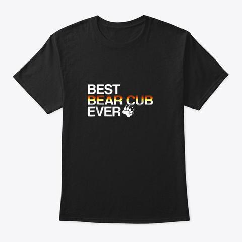 Lgbt Gay Pride Best Bear Cub T Shirt Black T-Shirt Front