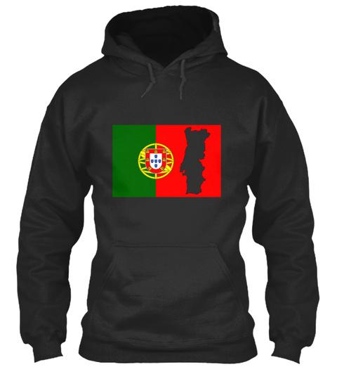 Love Portugal 69 Jet Black T-Shirt Front