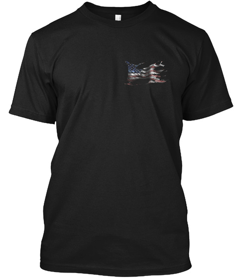 Ragged Flag Black Kaos Front