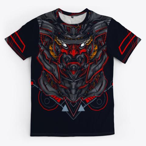 Samurai Warrior Standard Kaos Front
