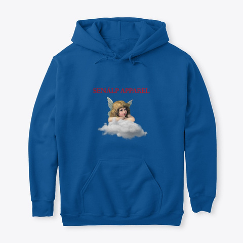 The Baby Angels Collection Royal T-Shirt Front