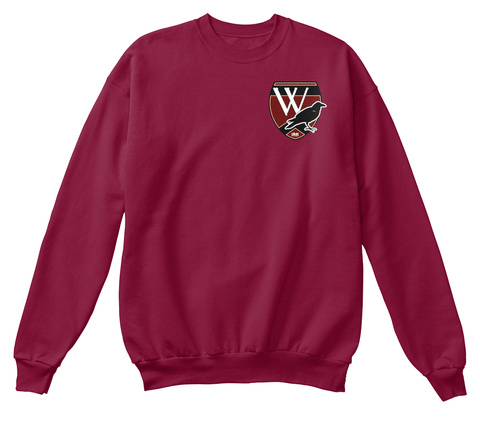 Nancy Drew: Waverly Academy Sweater Cardinal  T-Shirt Front