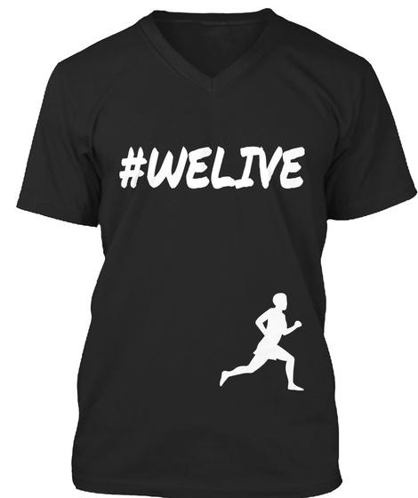 Welive Black T-Shirt Front