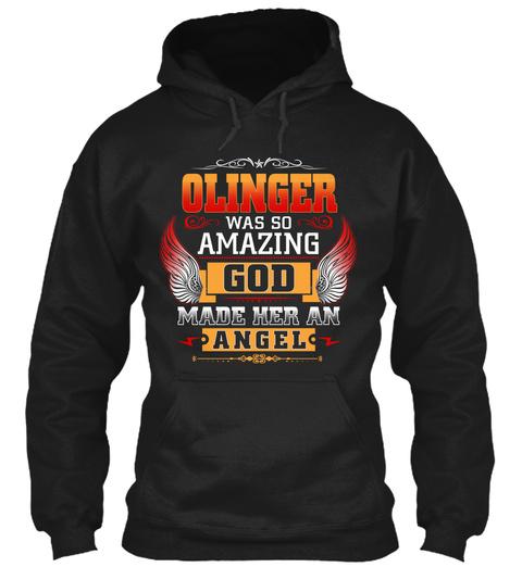 Olinger Angel Black T-Shirt Front