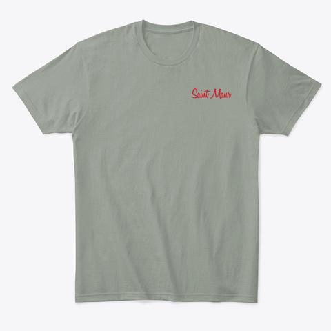 Saint Maur Grey T-Shirt Front