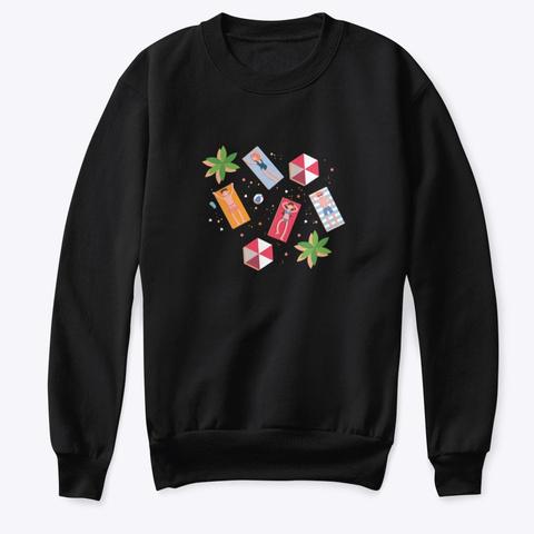 Sweatshirt: Enjoy Black T-Shirt Front