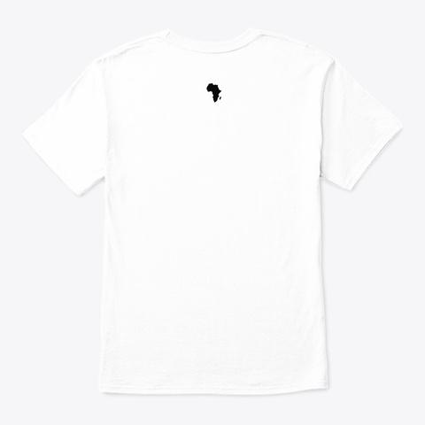Africa2theworld White T-Shirt Back
