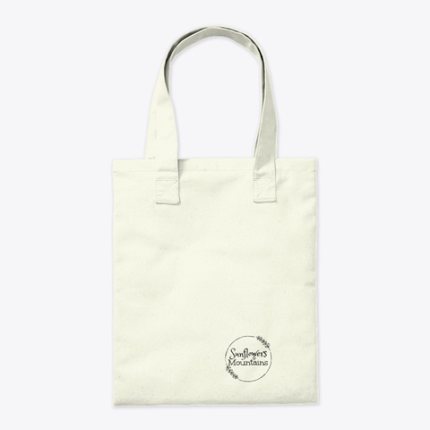 Sunflower Withers Tote Natural T-Shirt Back