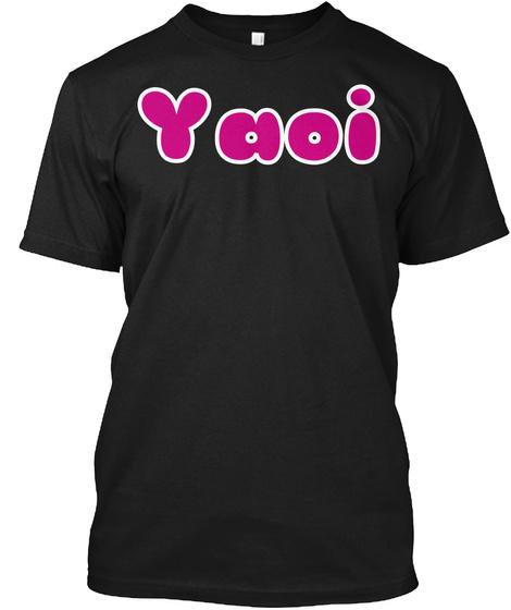 Yaoi Black Kaos Front