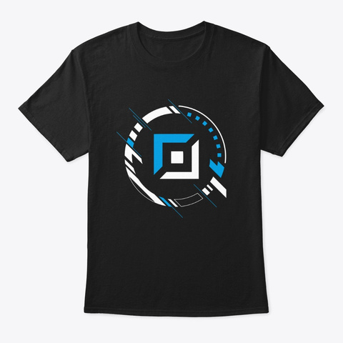Lo L Top Lane Roll Gamer Icon Black T-Shirt Front