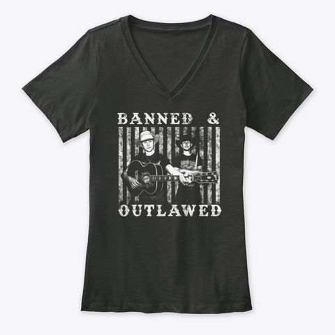 Banned & Outlawed Shirts  Black T-Shirt Front