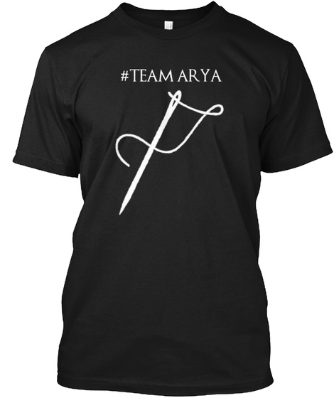 Arya Shirt Black T-Shirt Front