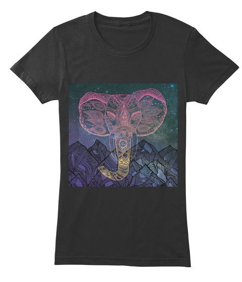 Kaitie Sly Ep T Shirt Campaign  Black T-Shirt Front