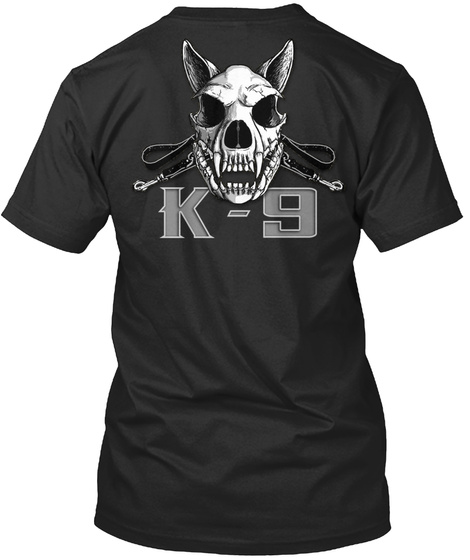 K 9 K 9 Black T-Shirt Back