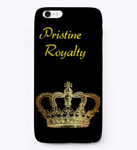 Ruu  Pristine Royalty Merch Black T-Shirt Front