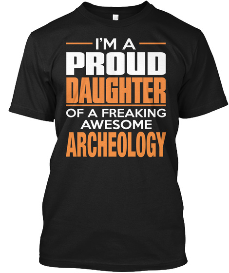 Archeology Black T-Shirt Front