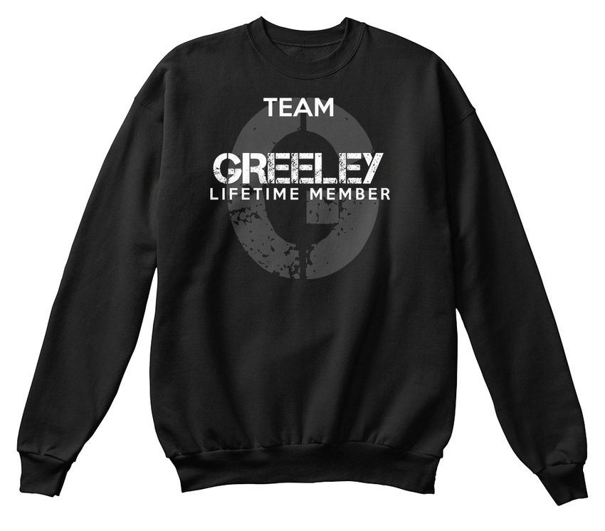 vie l'équipe Sweat à de unisexe standard Greeley Membre shirt 1axqRwC