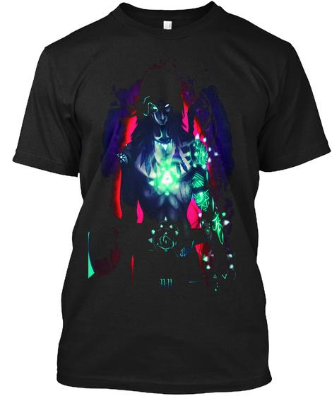 Zoa T Shirt Black T-Shirt Front