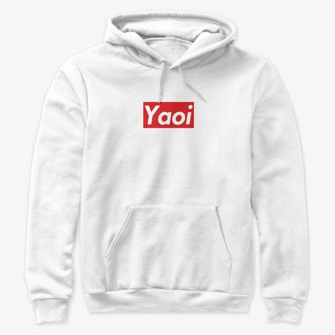 Yaoi White T-Shirt Front