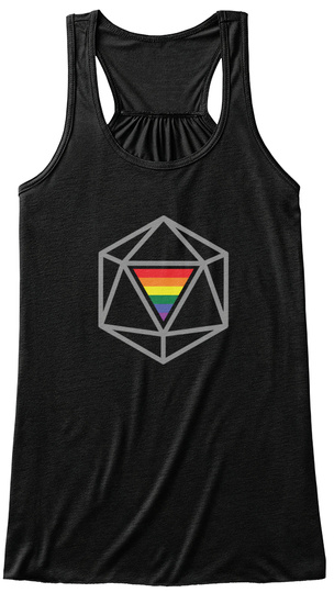All Are Welcome   Roleplaying   Rpg Black Women's Tank Top Front