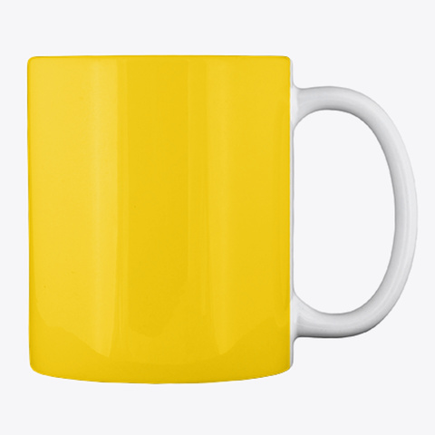 23b Swag Lemon Yellow Mug Back