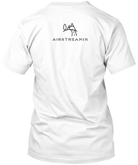 Airatreamin White T-Shirt Back