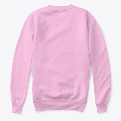 Kids Christmas Sweatshirts And More Pale Pink  T-Shirt Back