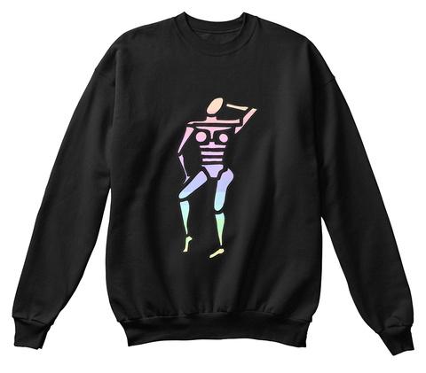 Feminine Black T-Shirt Front