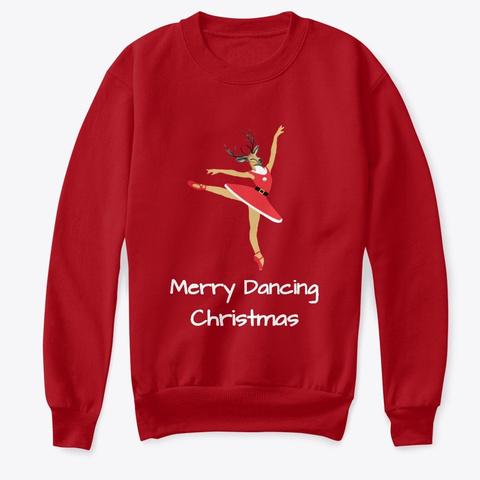 Renna Ballerina Deep Red  T-Shirt Front