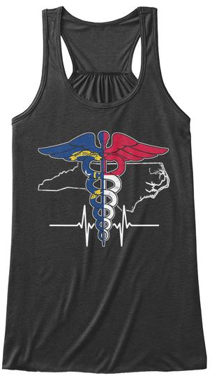 0/I Dark Grey Heather T-Shirt Front
