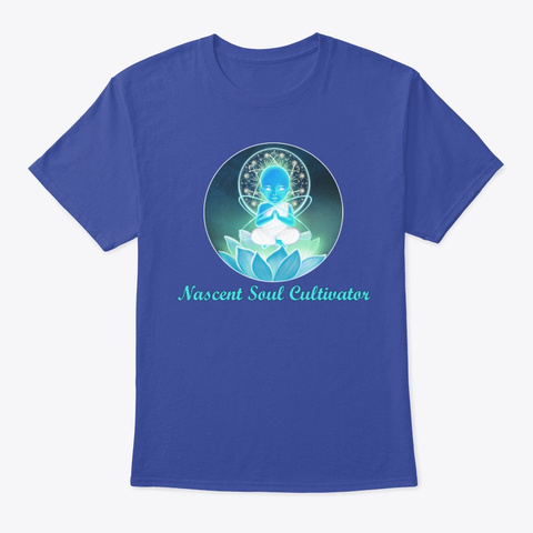Nascent Soul Cultivator Deep Royal T-Shirt Front