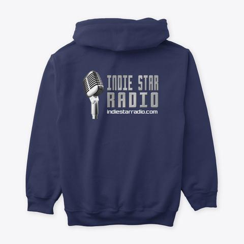 Official Indie Star Radio Hoodie Navy T-Shirt Back
