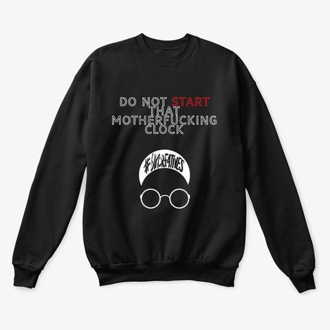 #Blkcreatives X Homage To Spike Lee Black Sweatshirt Front
