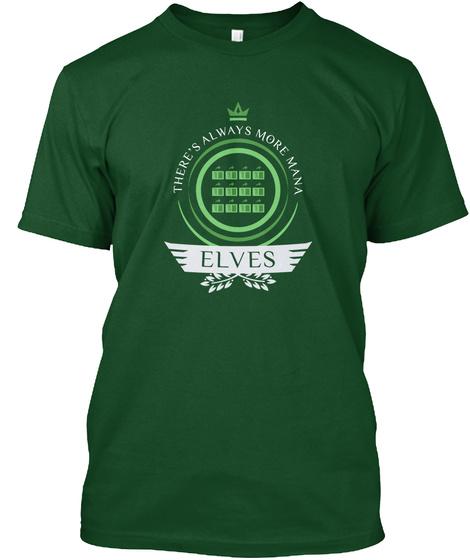 Elven Life V1 Deep Forest T-Shirt Front