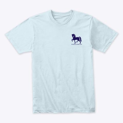 Academy   Usa Light Blue T-Shirt Front