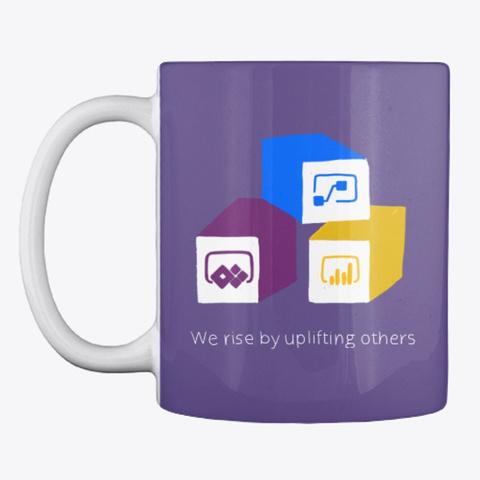 Power Addicts Mug Purple Mug Front