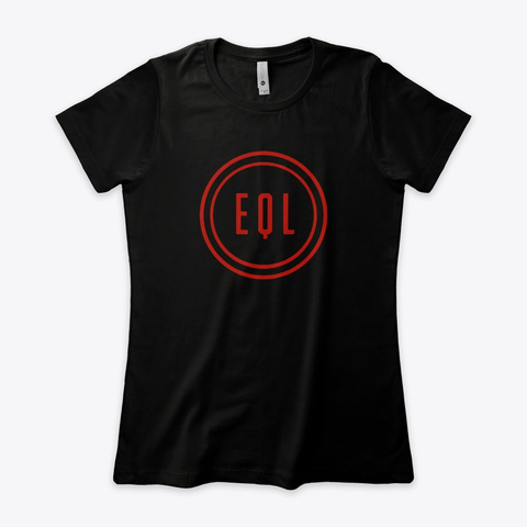 Equality League Merchandise Black T-Shirt Front