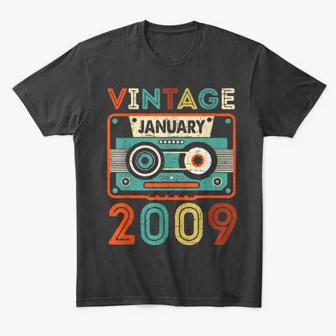 11Th Birthday Gifts Vintage January Hoodie Tshirt