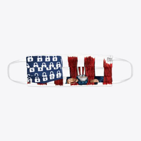 Open America Now Standard T-Shirt Flat