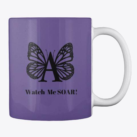 Social Butterfly – A  Purple T-Shirt Back