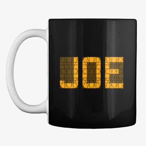 Joe (Mug) Black T-Shirt Front