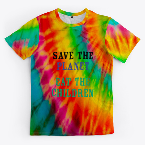 save the children tie dye shirt