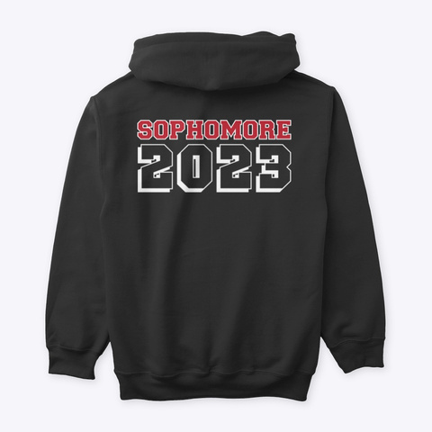 Chichester Sophomore 2023 Black T-Shirt Back