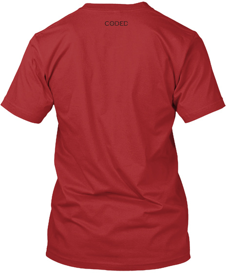 Are Animals Inferior? Red T-Shirt Back