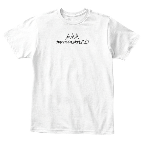 Aaa Pollinateco White T-Shirt Front