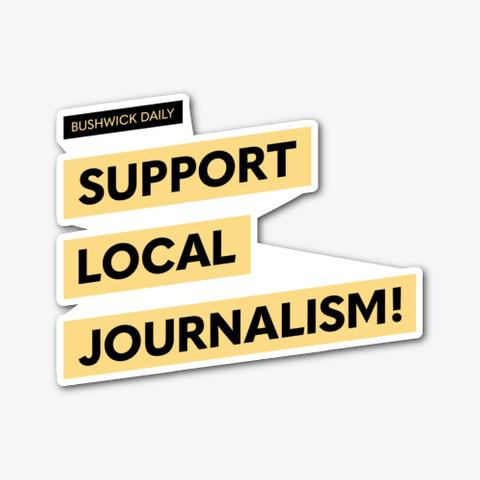 Support Local Journalism Main  Standard T-Shirt Front