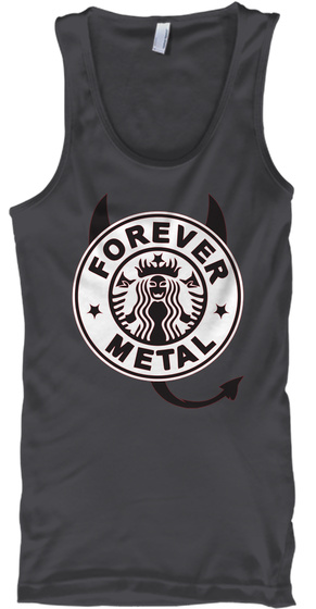 Forever Metal Charcoal T-Shirt Front