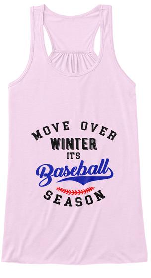 8c3dee0b4049 Cute Womens Baseball Tank Top Soft Pink Women's Tank Top Front